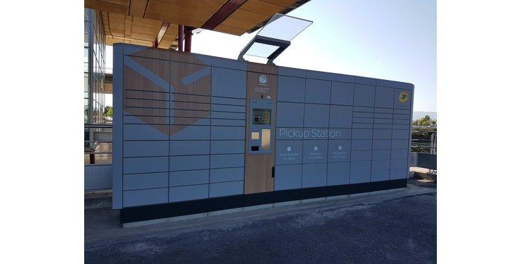 Photo Pickup station - consignes automatiques La Poste - Valence TGV