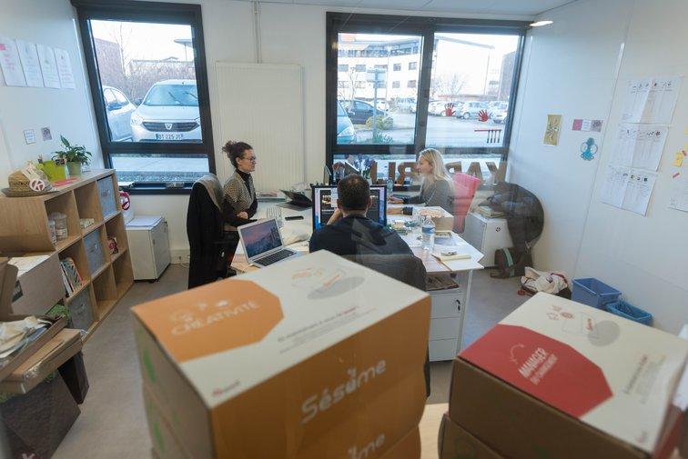 Les entreprises de la pépinière d'entreprises de Rovaltain - Valence TGV beneficient de services dédiés