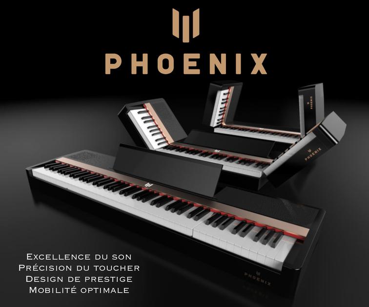 Le piano Phoenix, un piano de concert de prestige… numérique