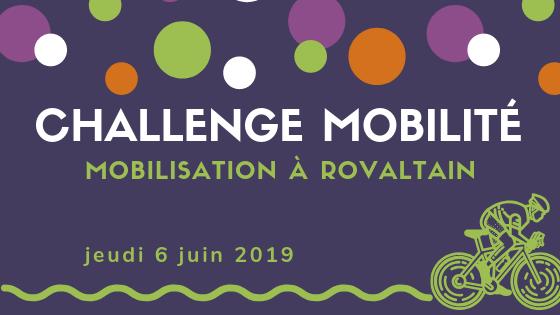Challenge Mobilité 2019