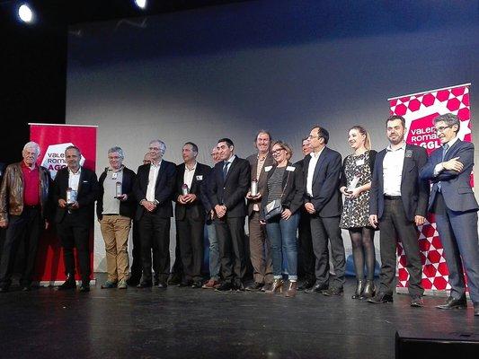 Les lauréats des trophées de l'entreprises 2017 de Valence Romans Agglo