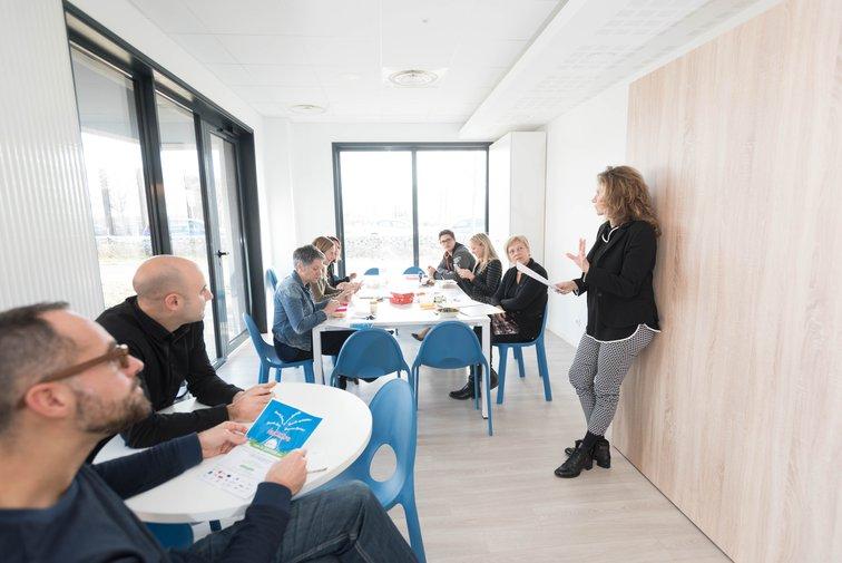 La pepinière d'entreprises de Rovaltain est une offre immobilière adaptée aux jeunes entreprises.