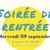 LA SOIREE DE RENTRÉE DU CLUB ROVALTAIN
