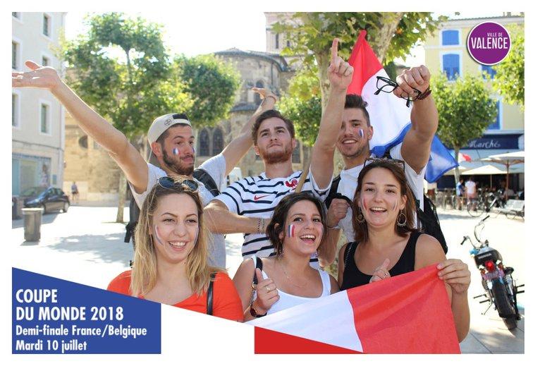 Les photos de Mypixtrip, pour la coupe du monde, à Valence.