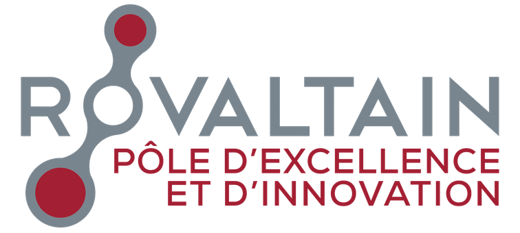 logo du parc d'activités de Rovaltain - Valence TGV