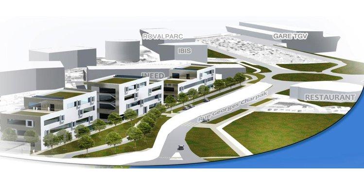 Photo 2000 m²  de bureaux - location - Quartier de la Gare - Bâtiment neuf