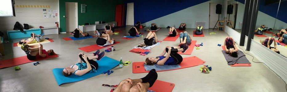 Les cours de fitness sont proposés à Rovaltain - Valence TGV