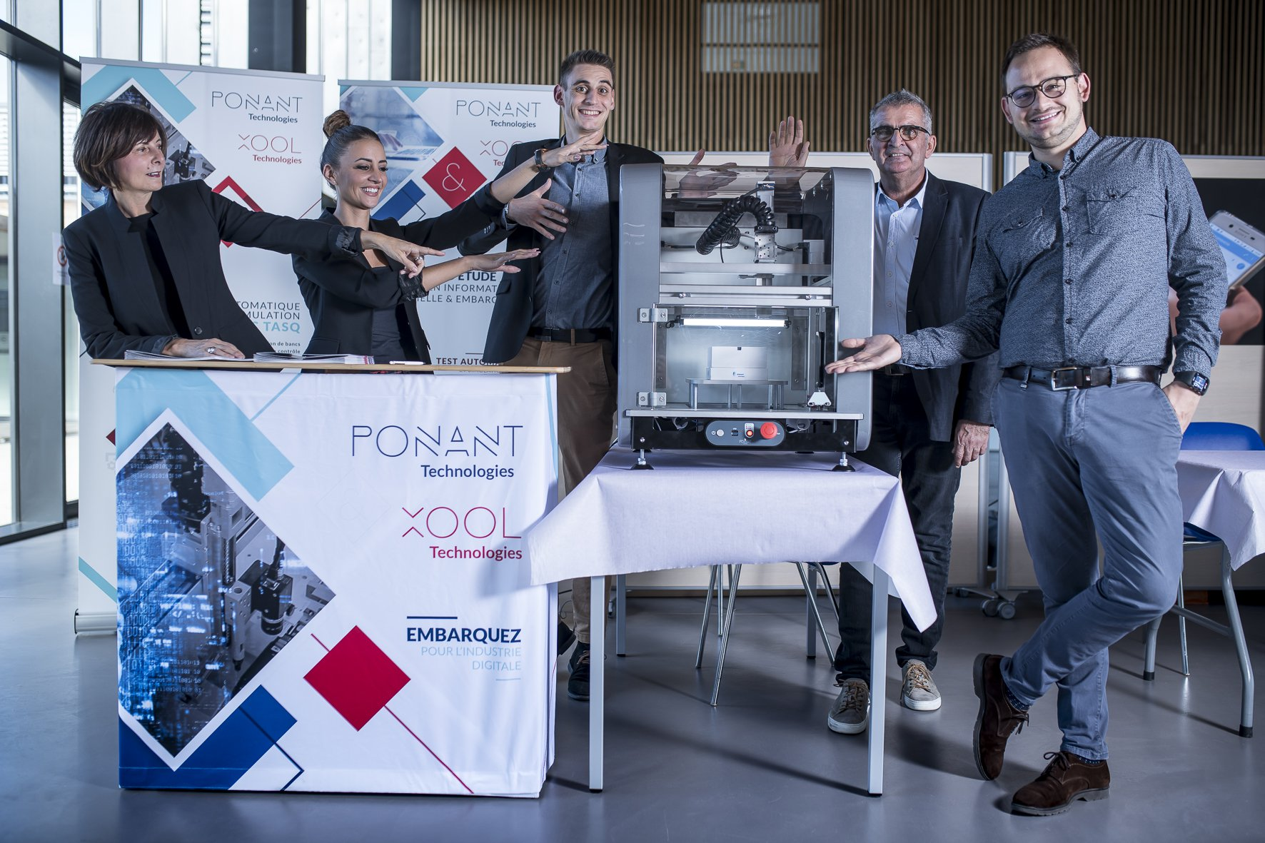 L'entreprise Ponant Technologies, lors de Mardinnov