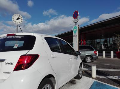 L'autopartage, une solution pour optimiser les déplacements professionnels des entreprises de Valence TGV.