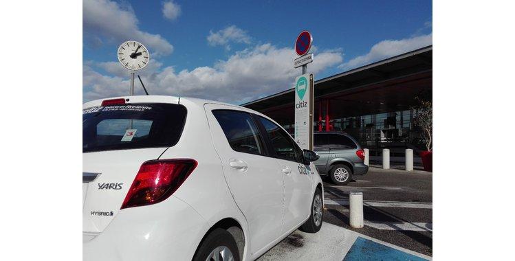 Photo Station d'autopartage - véhicule en libre service (Parking P2 - Valence TGV)