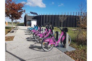 Libélo - station vélo libre-service - Rovaltain