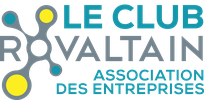 logo du CLub Rovaltain, l'association des entreprises du parc d'activités de Rovaltain - Valence TGV