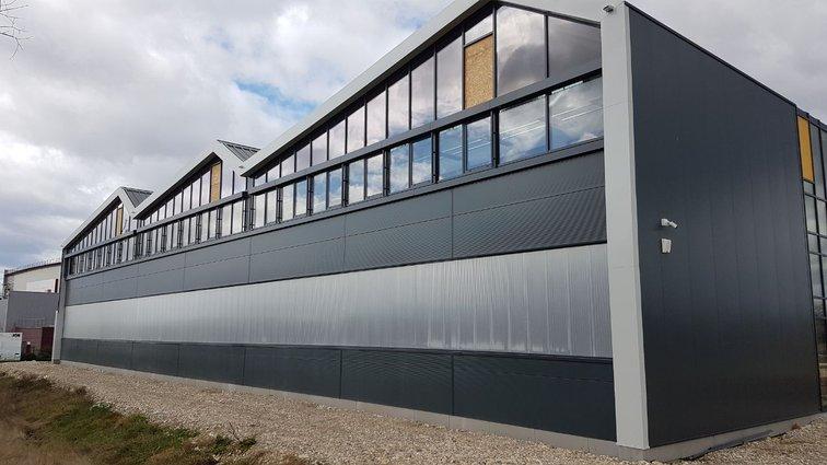 Nouveau bâtiment pour Prodeval, à Valence TGV