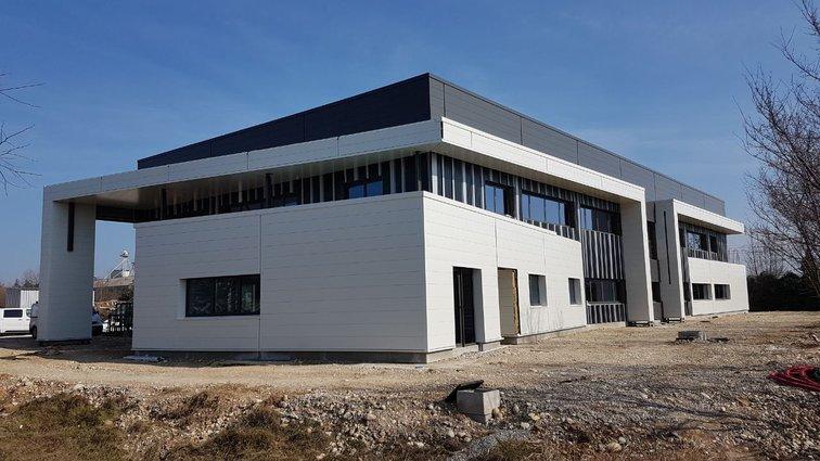 Markem Imaje construit un bâtiment à Rovaltain Valence TGV