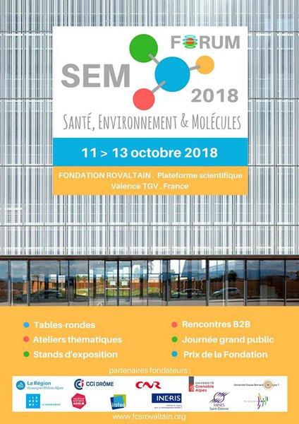 Le Forum SEM se déroulera sur le parc d'activités de Rovaltain Valence TGV, du 11 au 13 octobre 2018