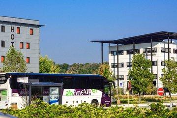 """Transport - arrêt de bus Citéa - """"Rovaltain"""""""