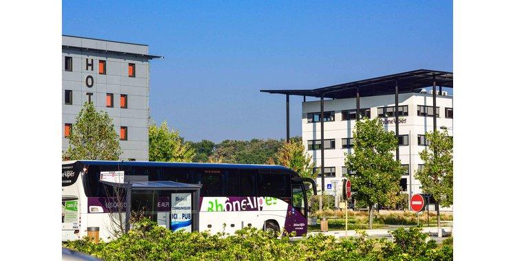 """Photo Transport - arrêt de bus Citéa - """"Rovaltain"""""""