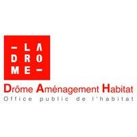 Logo Drôme Aménagement Habitat