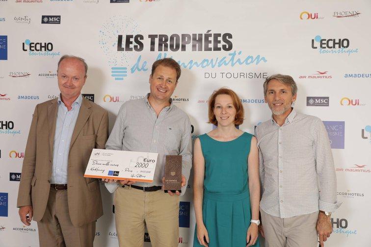 Cérémonie de récompense aux Trophées de l'innovation du Tourisme