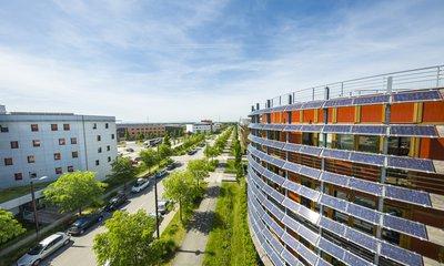 Vue nacelle du Quartier de la Gare, à Rovaltain Valence TGV