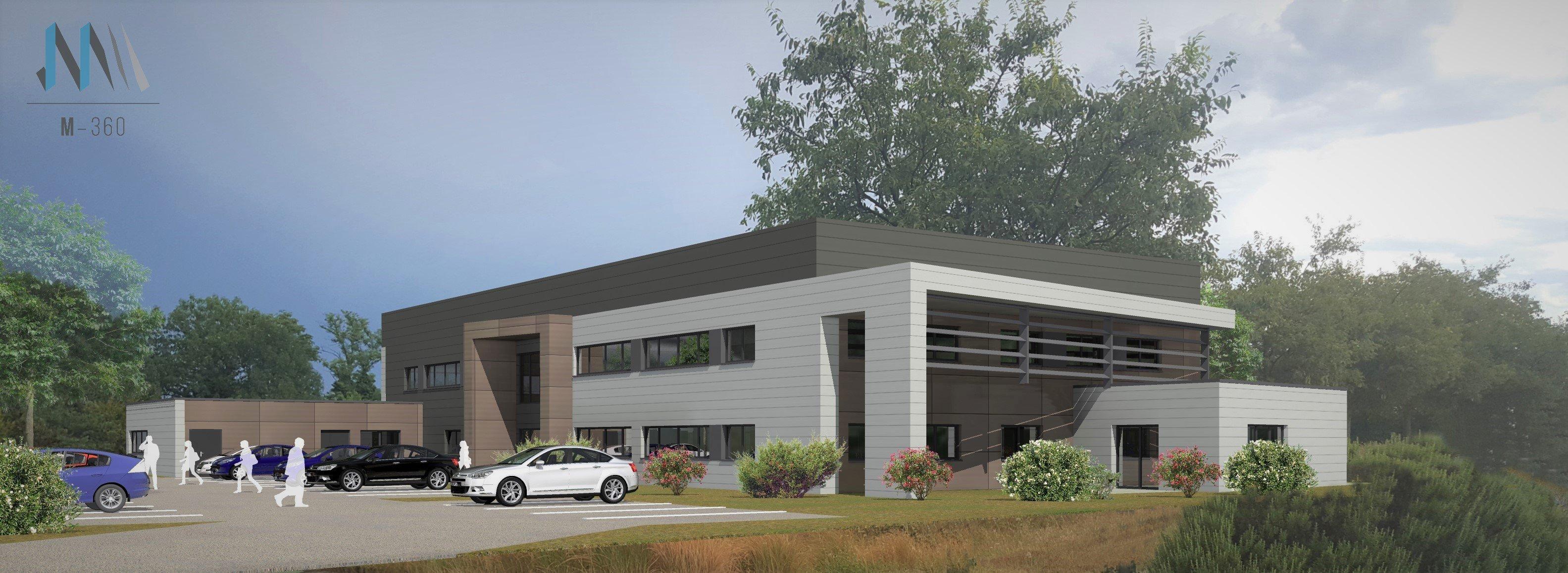 Nouveau bâtiment pour Markem Imaje sur le parc d'activités de Rovaltain - Valence TGV