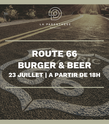 ROUTE 66 - BURGER & BEER