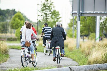Le vélo et la marche à pied, des moyens d'optimiser ses déplacements professionnels lorsque vous avez des clients à Rovaltain Valence TGV