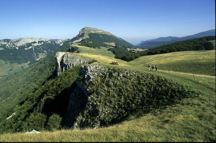 Le Vercors et ses paysages magnifiques, dans la Drôme