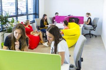 Espace de coworking - La pépinière d'entreprises - Quartier de la Gare - Valence TGV