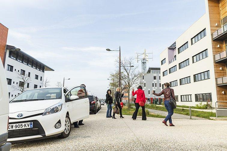 Alternative aux problématiques de parking ? La covoiturage est une solution à Rovaltain - Valence TGV
