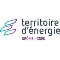Logo Territoire d'énergie Drôme - SDED