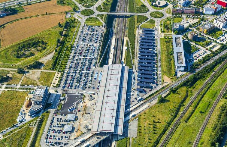Parking P1 et P2 de la gare de Valence TGV