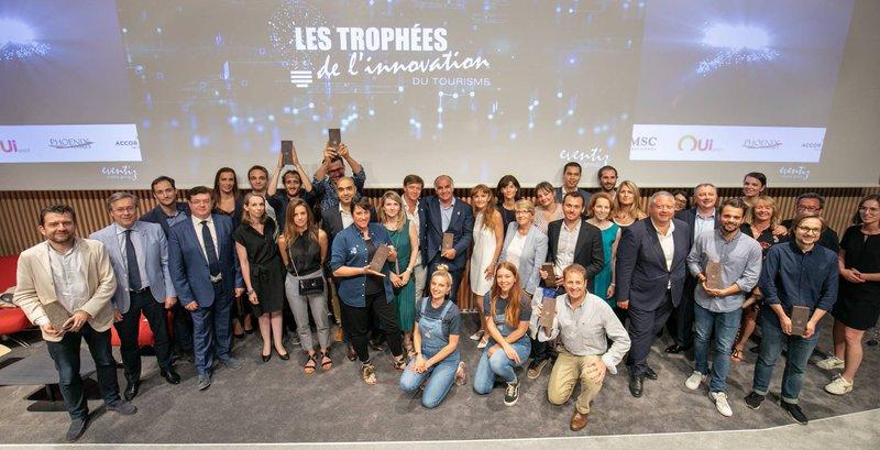 Remise des prix trophées de l'innovation du tourisme. Les lauréats, dont Kookooning
