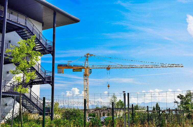 Terrains pour l'implantation d'entreprises à Valence TGV. Une solution immobilière proposée aux entreprises sur le parc d'activités de Rovaltain