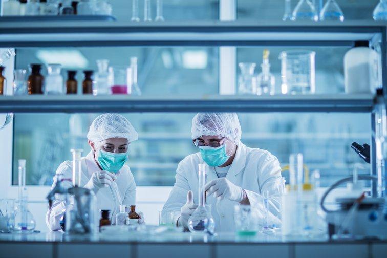 La plateforme scientifique de Rovaltain est composé de halls expérimentales et de salles blanches ecotox